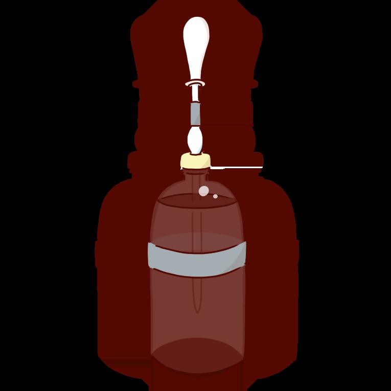 グレーの溶媒