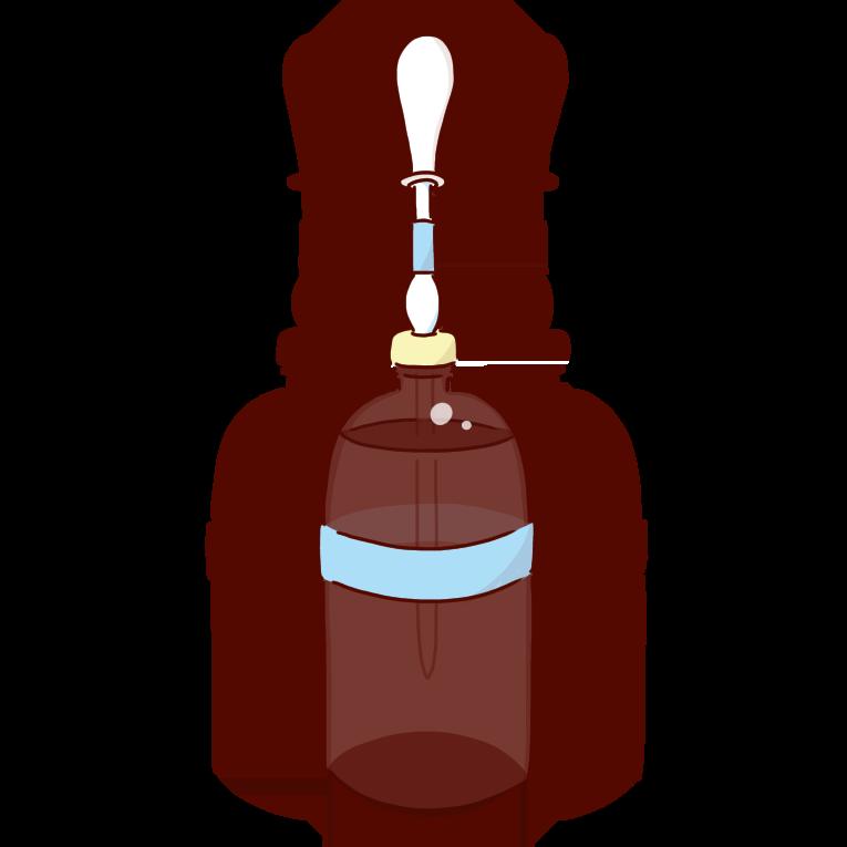 水色の溶媒