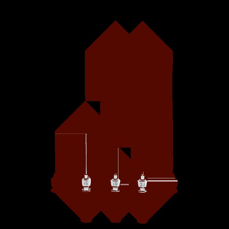 ガスタイトシリンジの交換針